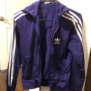 Purple Adidas Jacket